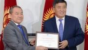 Сооронбай Жээнбеков успешно сдал экзамен по госязыку