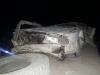 В Нарыне машина с пассажирами упала с 12-метровой высоты