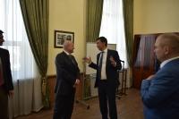 Мэр Бишкека встретился с послом России в Кыргызстане