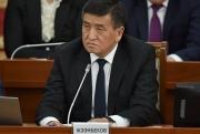 Сооронбай Жээнбеков встретился с председателем исполкома СНГ в Минске