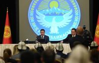 Садыр Жапаров встретился с соотечественниками в Анкаре