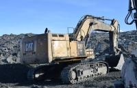 Спасатели нашли тело водителя экскаватора, который ушел под лед на руднике «Кумтор»