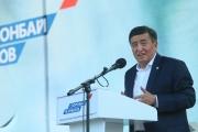Сооронбай Жээнбеков: Моим первым шагом станет разработка программы обеспечения населения работой районов и сел