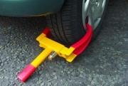 У гаишников все еще нет блокираторов колес для нарушителей ПДД