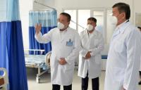 Сооронбай Жээнбеков: Мы приложим все усилия для улучшения социального положения врачей