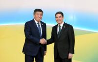 Сооронбай Жээнбеков поздравил президента Туркменистана с днем рождения