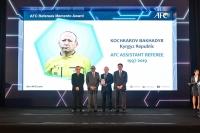 Кыргызстанский футбольный рефери Бахадыр Кочкаров завершил международную карьеру (фото)