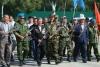 Ветераны афганских и баткенских событий провели в Бишкеке автопробег в поддержку Сооронбая Жээнбекова