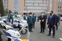 Глава МВД Улан Ниязбеков отправился с визитом в Узбекистан (фото)