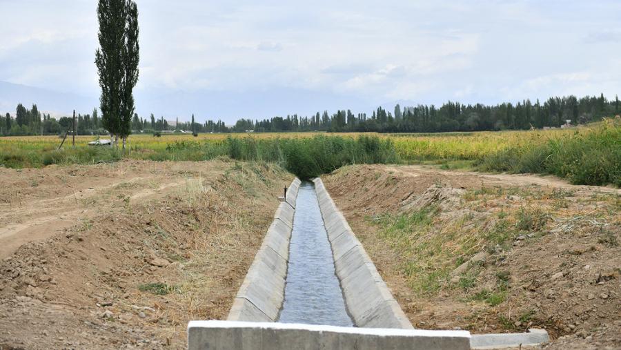 Кабмин выделит 100 млн сомов на ремонтно-восстановительные работы объектов ирригации