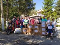 Пенсионеры из дома престарелых собрали гуманитарную помощь для Баткенской области (фото)