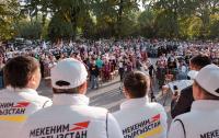 Теплый прием оказал Джалал-Абад кандидатам от партии «Мекеним Кыргызстан» №4