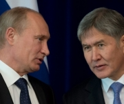 Атамбаев вылетел в Москву на встречу с Путиным