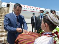 Завершился официальный визит Садыра Жапарова в Туркменистан