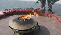 Парень пытался потушить Вечный огонь. Милиция завела дело по статье «Мелкое хулиганство»