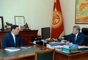 Председатель ГКНБ проинформировал президента об оперативной обстановке