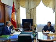 Зачем встречались Алмазбек Атамбаев и Абдиль Сегизбаев?