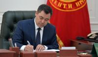 Садыр Жапаров поблагодарил главу арабского благотворительного фонда за строительство Исламской академии в Токмоке