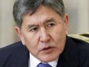 Президент Алмазбек Атамбаев принял председателя ГКНБ Абдиля Сегизбаева