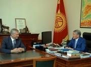 Президент КР принял Генерального секретаря ОДКБ