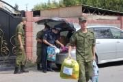 Военнослужащие «Канта» посетили детские дома