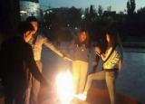 Милиция задержала осквернителей Вечного огня