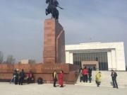 Акция протеста в поддержку Текебаева собрала около 15 человек