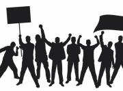 Митинг в Чым-Коргоне закончился мирно. Дорогу не перекрыли