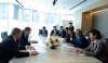 Атамбаев встретился с руководством энергетической компании