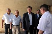 В Таласской области будет проведен капремонт областной и районной больниц