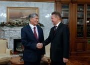 Президент КР встретился с председателем правления ОАО «Газпром»
