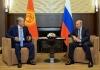Атамбаев Путину: Я рад, что у нас будет еще несколько встреч до декабря