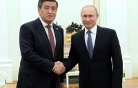 Сооронбай Жээнбеков встретился с Владимиром Путиным в Москве