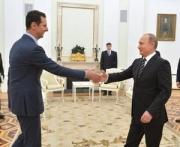 Асад во вторник посетил Москву и провел переговоры с Путиным