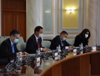 Руслан Казакбаев провел встречу с министром иностранных дел Казахстана