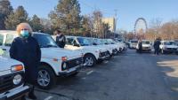 19 машин скорой помощи передали Госсанэпиднадзору