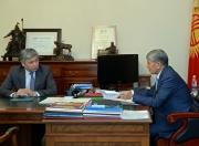 Президент Атамбаев принял главу отечественного МИДа