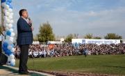 Чыныбай Турсунбеков: Миллионы долларов получит Ошская область от ввода в эксплуатацию магистрального газопровода