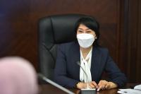 Аида Исмаилова: Создается единая база системы общественного здравоохранения
