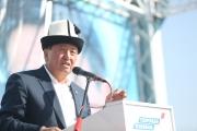 Сооронбай Жээнбеков: Только на доверии между властью и народом возможно развитие государства