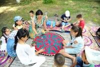 Для детей, не посещающих садики, на лето установят юрты