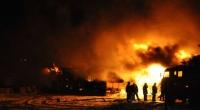 Криминал запугивает. Члены ОПГ сожгли кафе в селе Бостери