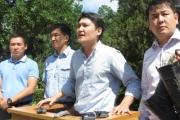 МВД назвало бредом слухи об увольнении милиционеров за посты в поддержку Текебаева