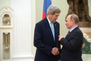 О чем говорили Владимир Путин и Джон Керри?