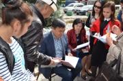 «Ата Мекен»: Читатели поддерживают партию «Ата Мекен»