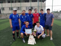 Верховный суд стал лучшим в ежегодном турнире по мини-футболу
