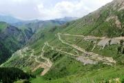 Дорога на курорт Иссык-Ата временно закрыта