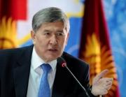 Сегодня состоялась встреча Атамбаева с главой МЧС КР