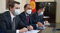 Артем Новиков встретился с координатором ПРООН и обсудил готовность правительства к вспышке COVID-19