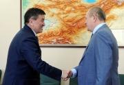 Премьер встретился с зампредом правления ПАО «Газпром» Виталием Маркеловым